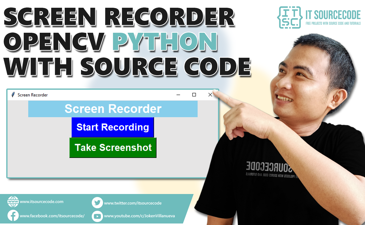 Screen Recorder OpenCV Python With Source Code