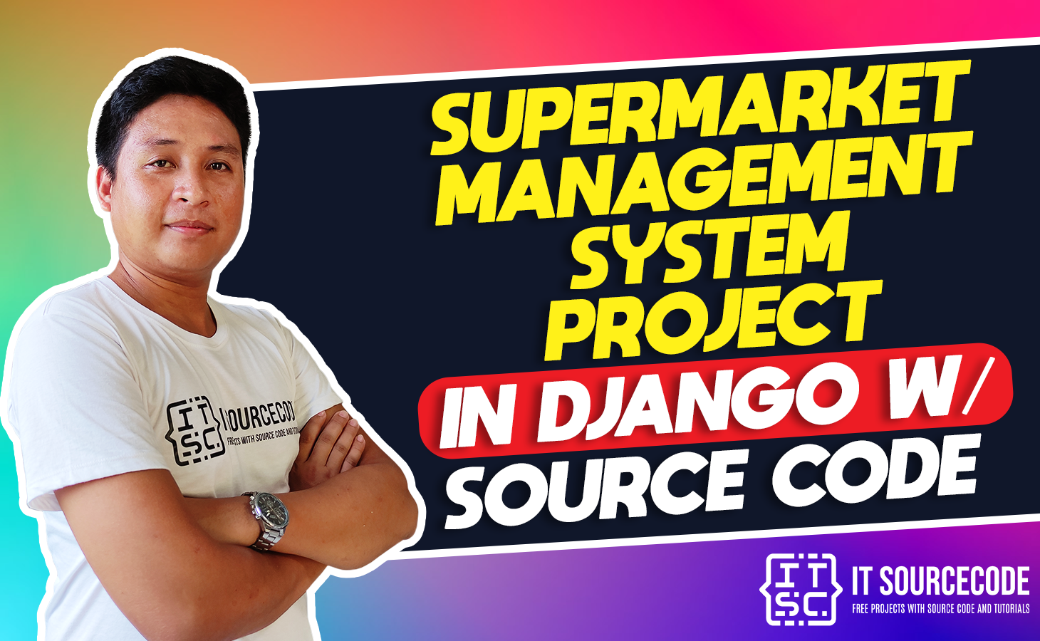 Supermarket Management System Project in Django with Source Code