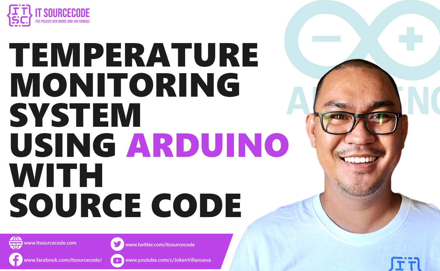 Temperature Monitoring System Using Arduino with Source Code