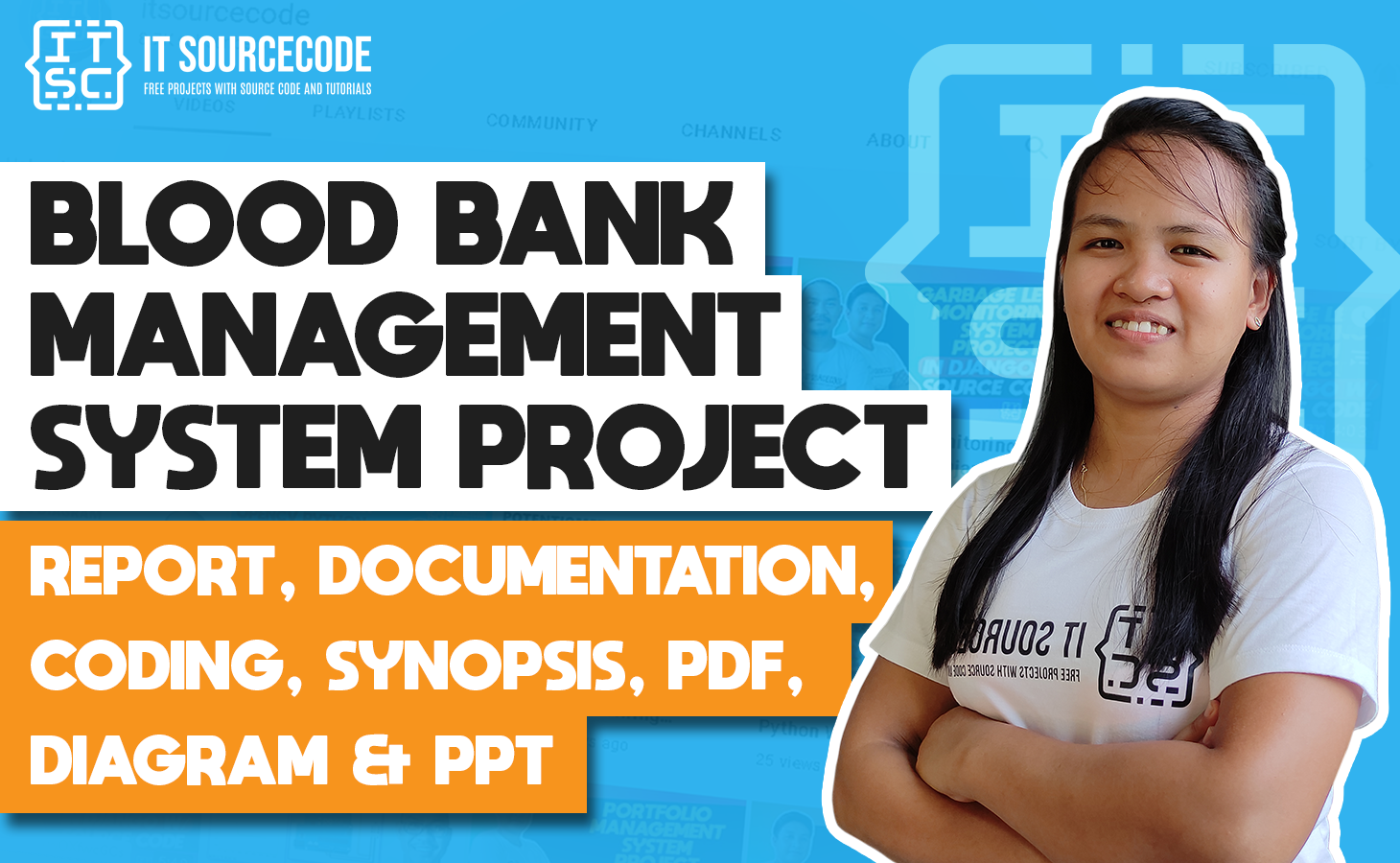Blood Bank Management System - report, documentation, coding, abstract, pdf & diagram