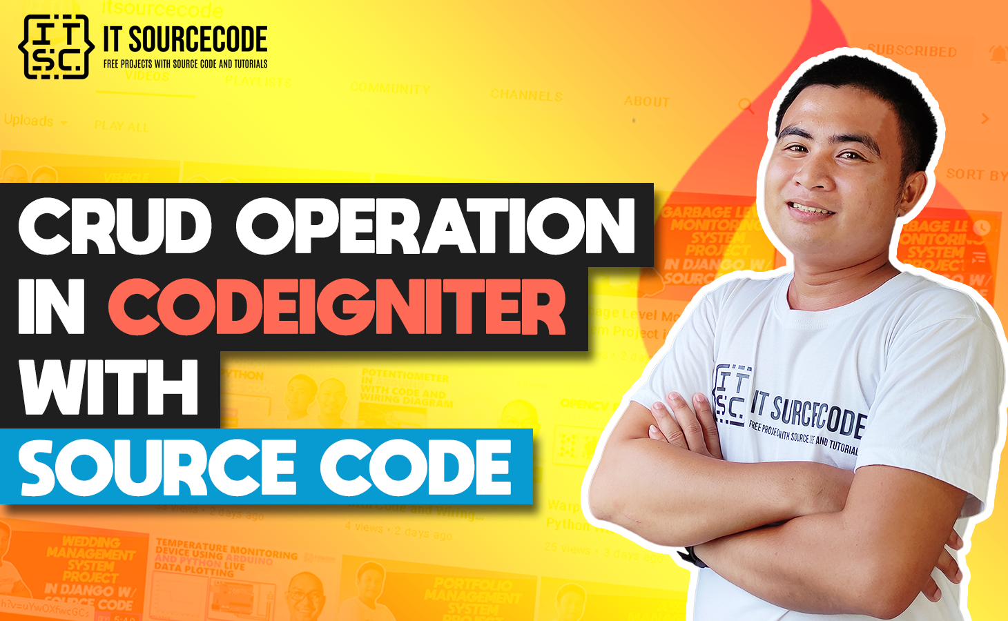 CRUD In CodeIgniter Using Ajax With Source Code