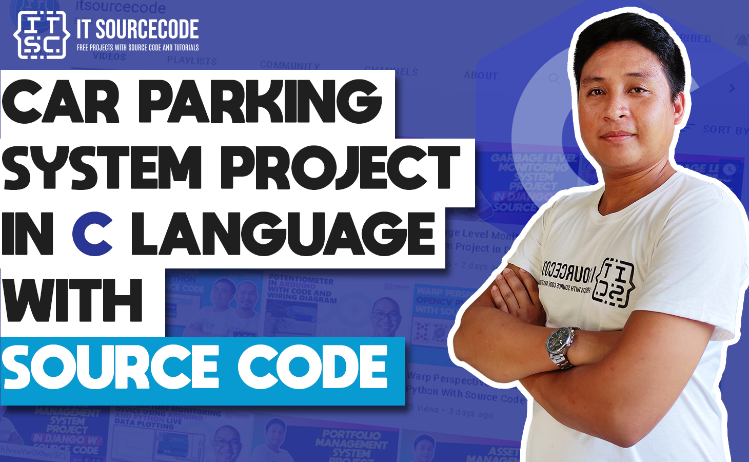 Car Parking System Project in C Language with Source Code