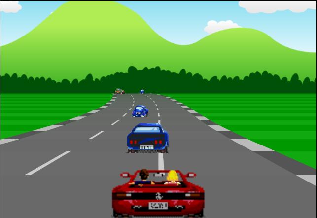 Car Racing Game Javascript Code Output