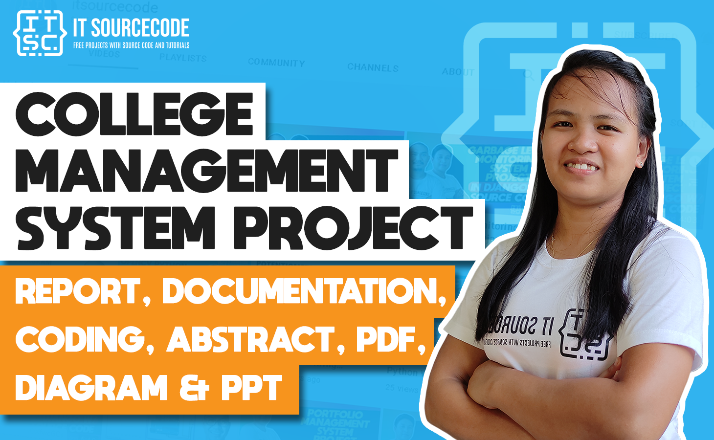 College Management System - report, documentation, coding, abstract, pdf, diagram & ppt