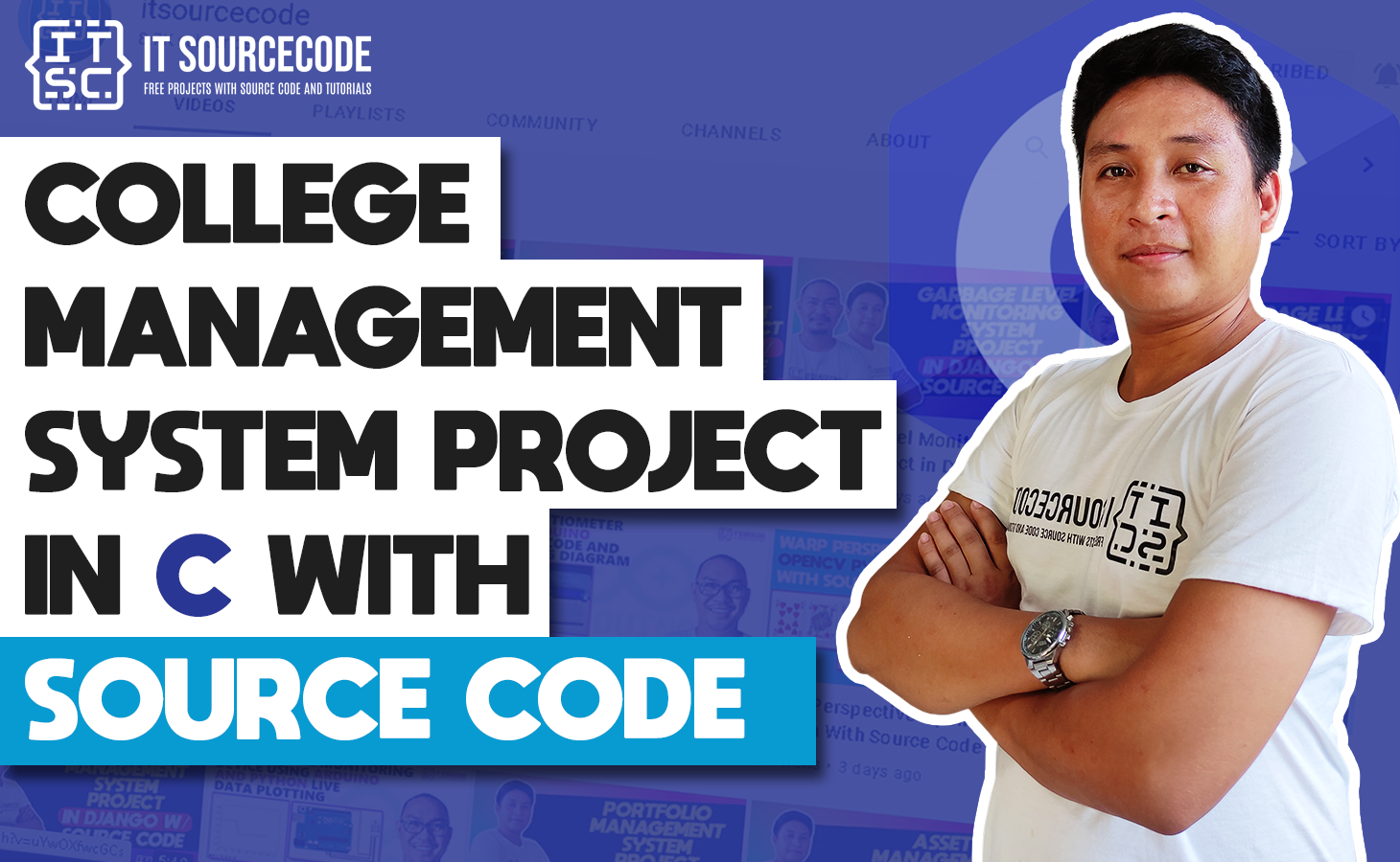 College management system project in C Language with Source code