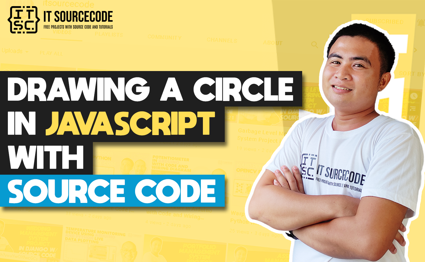Drawing A Circle In Javascript With Source Code