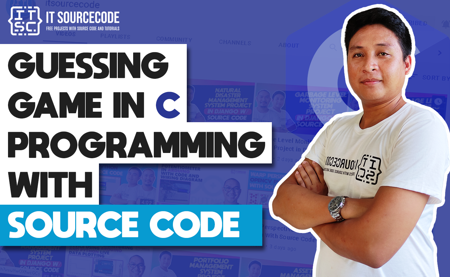 Guessing Game in C Programming with Source Code