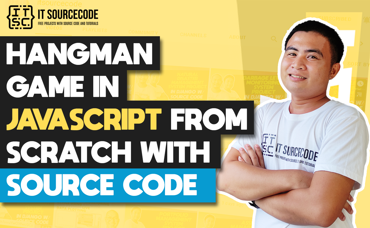 Hangman Game Javascript From Scratch With Source Code