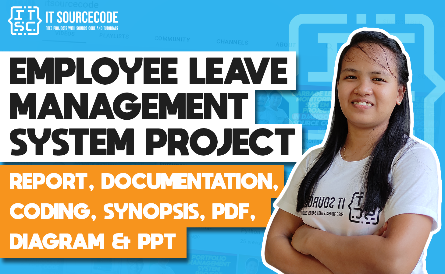 Employee Leave Management System - report, documentation, coding, synopsis, pdf, diagram & ppt