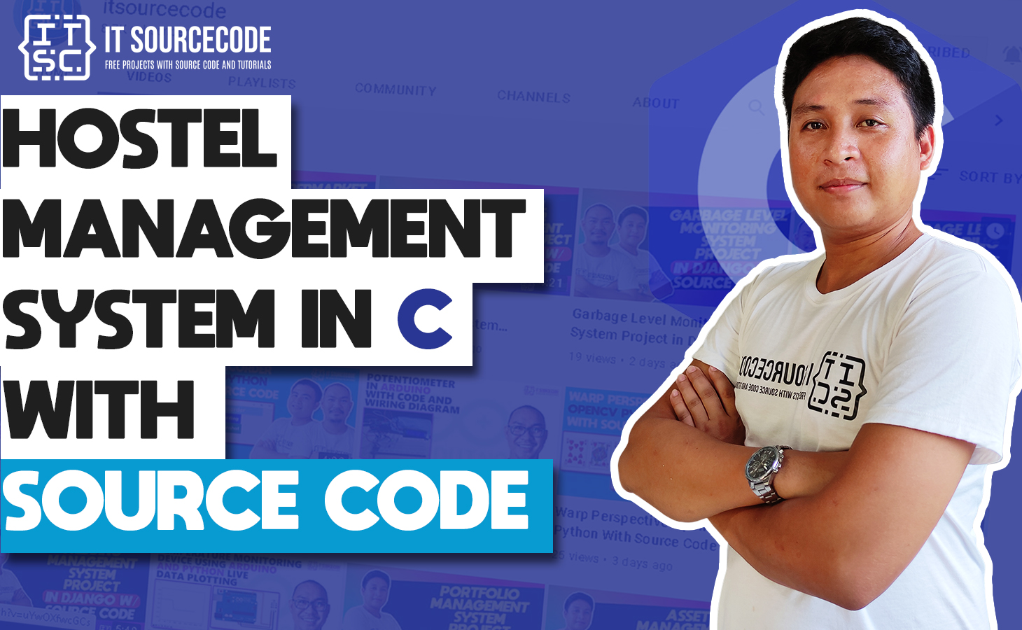 Hostel Management System in C with Source Code