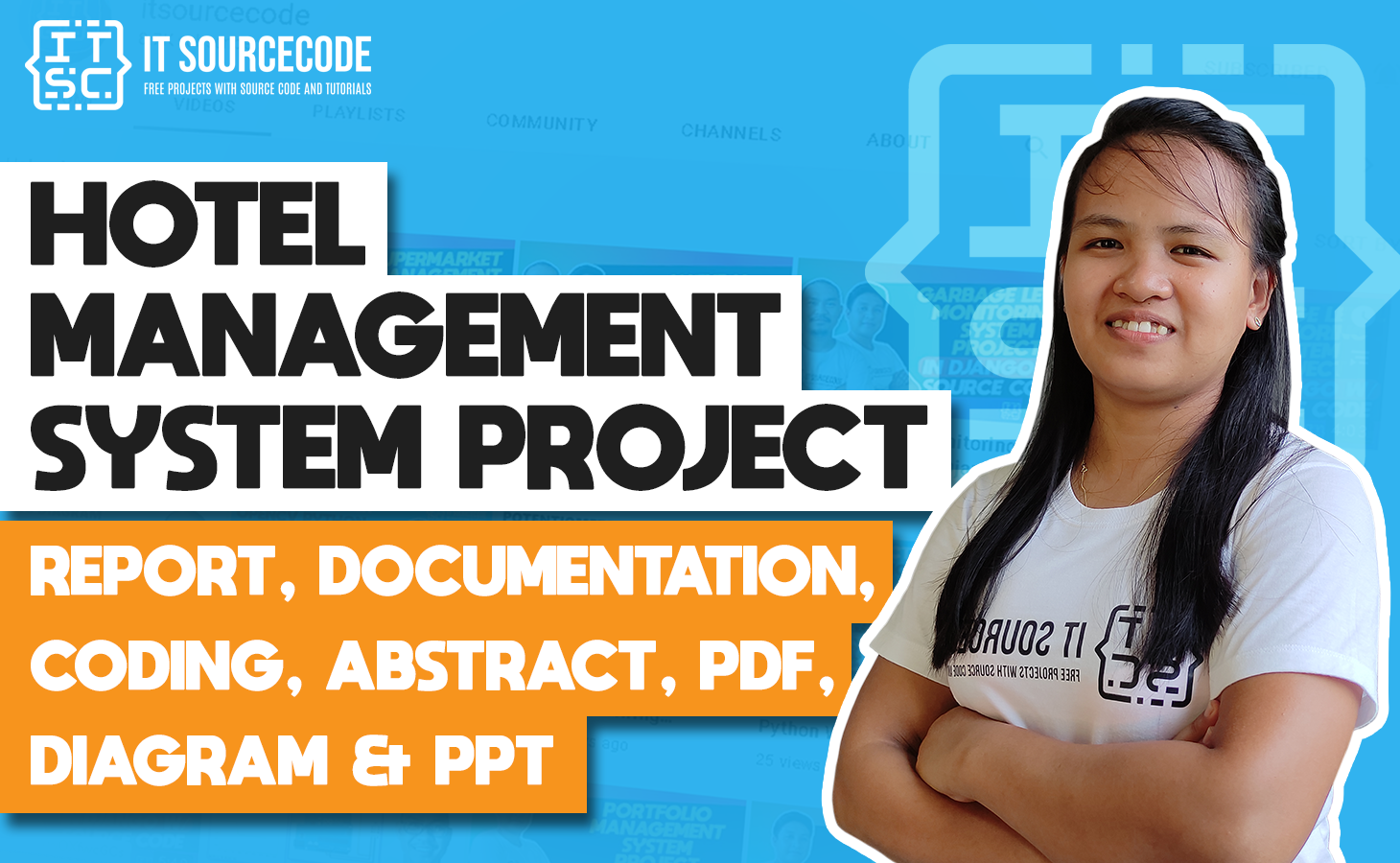 Hotel Management System - report, documentation, coding, abstract, pdf, diagram & ppt