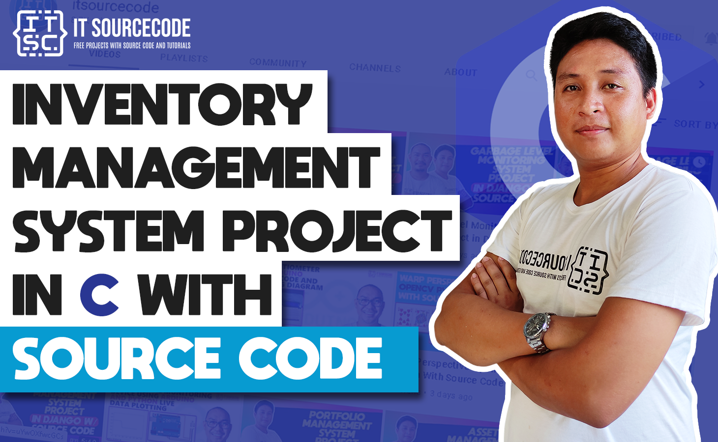 Inventory Management System Project in C Language with Source Code