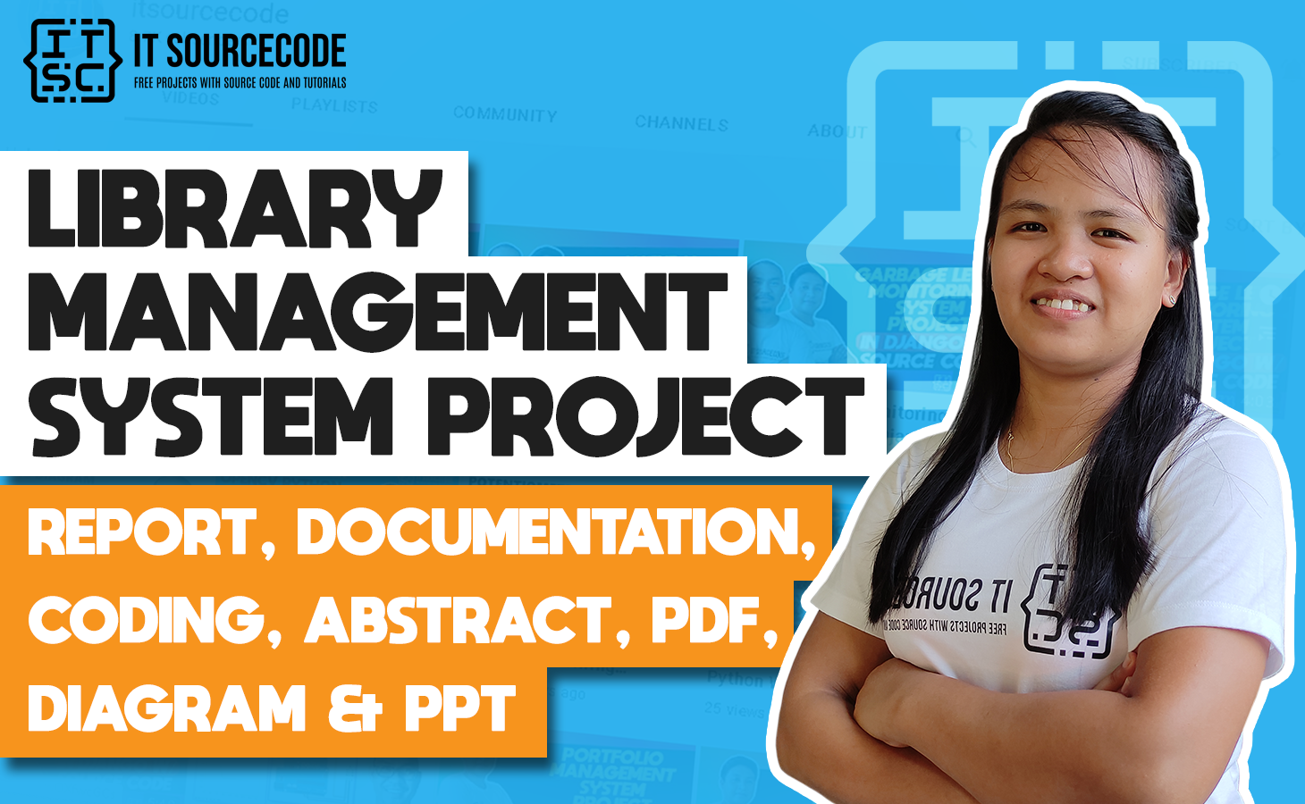 Library Management System - report, documentation, coding, abstract, pdf, diagram & ppt
