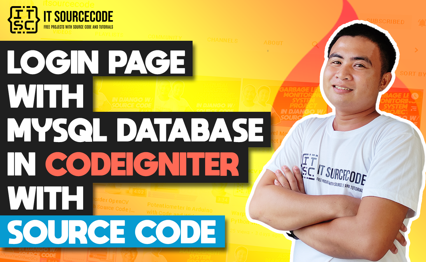 Login Page In CodeIgniter With Database