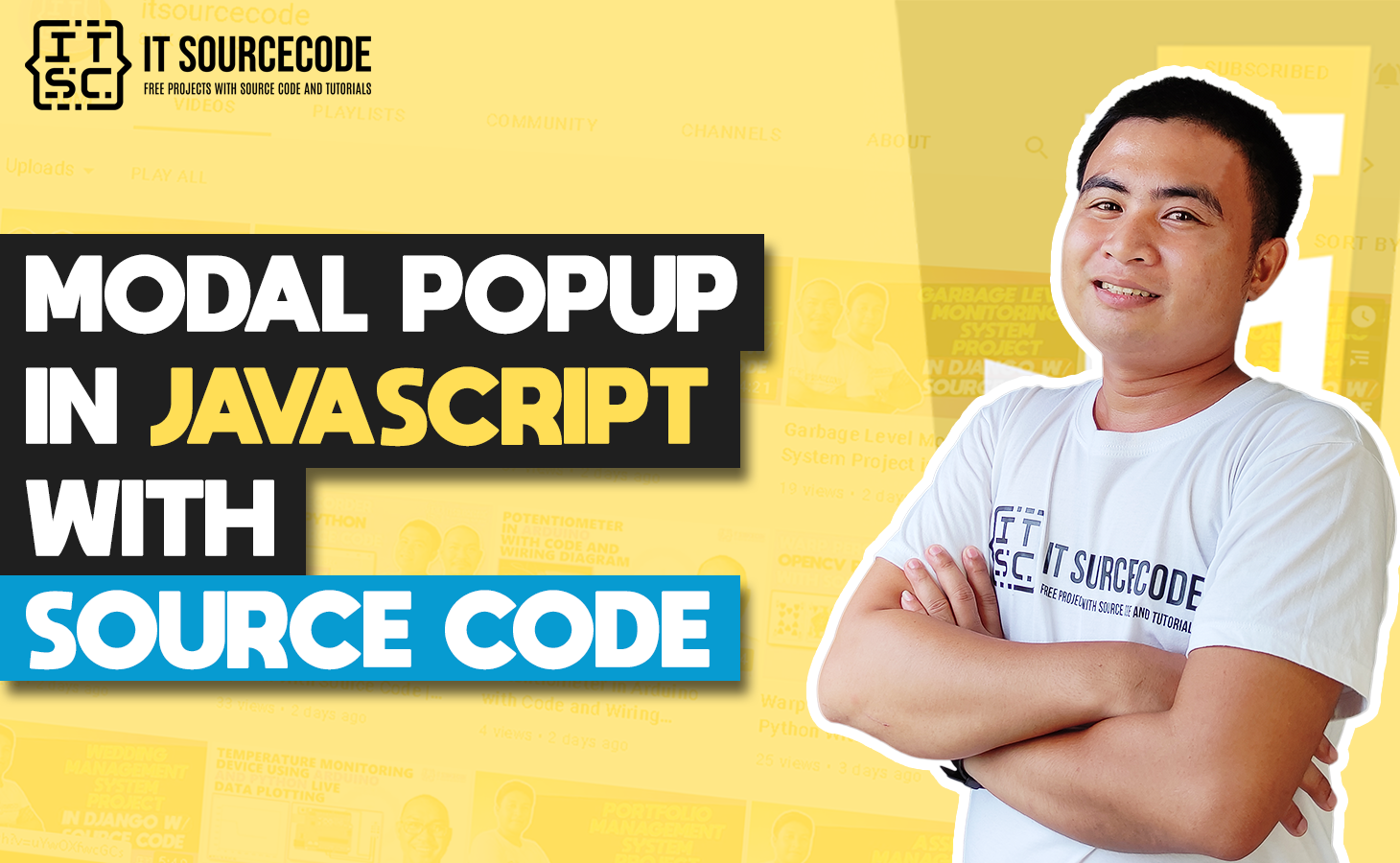 Modal Popup In Javascript With Source Code