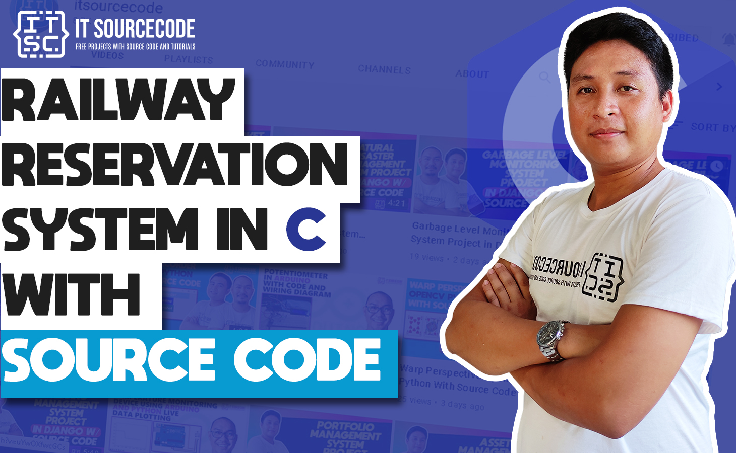 Railway Reservation System in C with Source Code