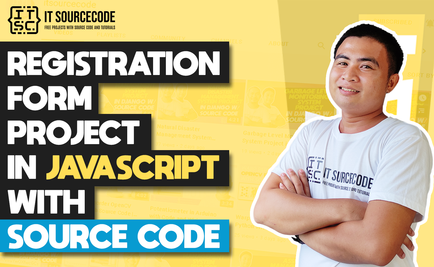 Registration Form In HTML With Javascript Validation With Source Code