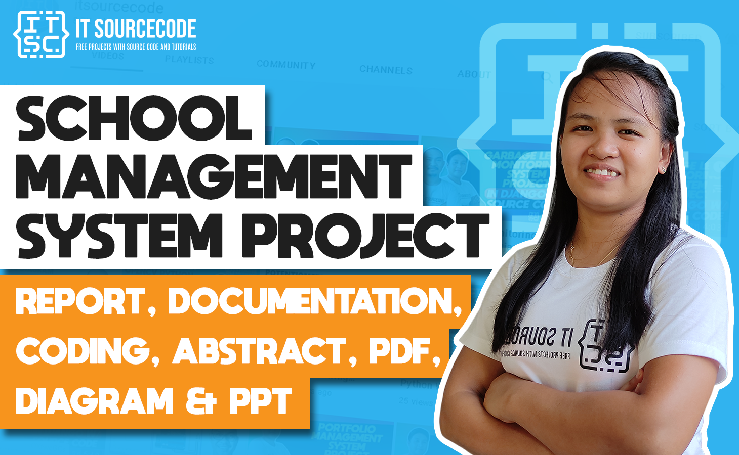 School Management System - report, documentation, coding, abstract, pdf, diagram & ppt