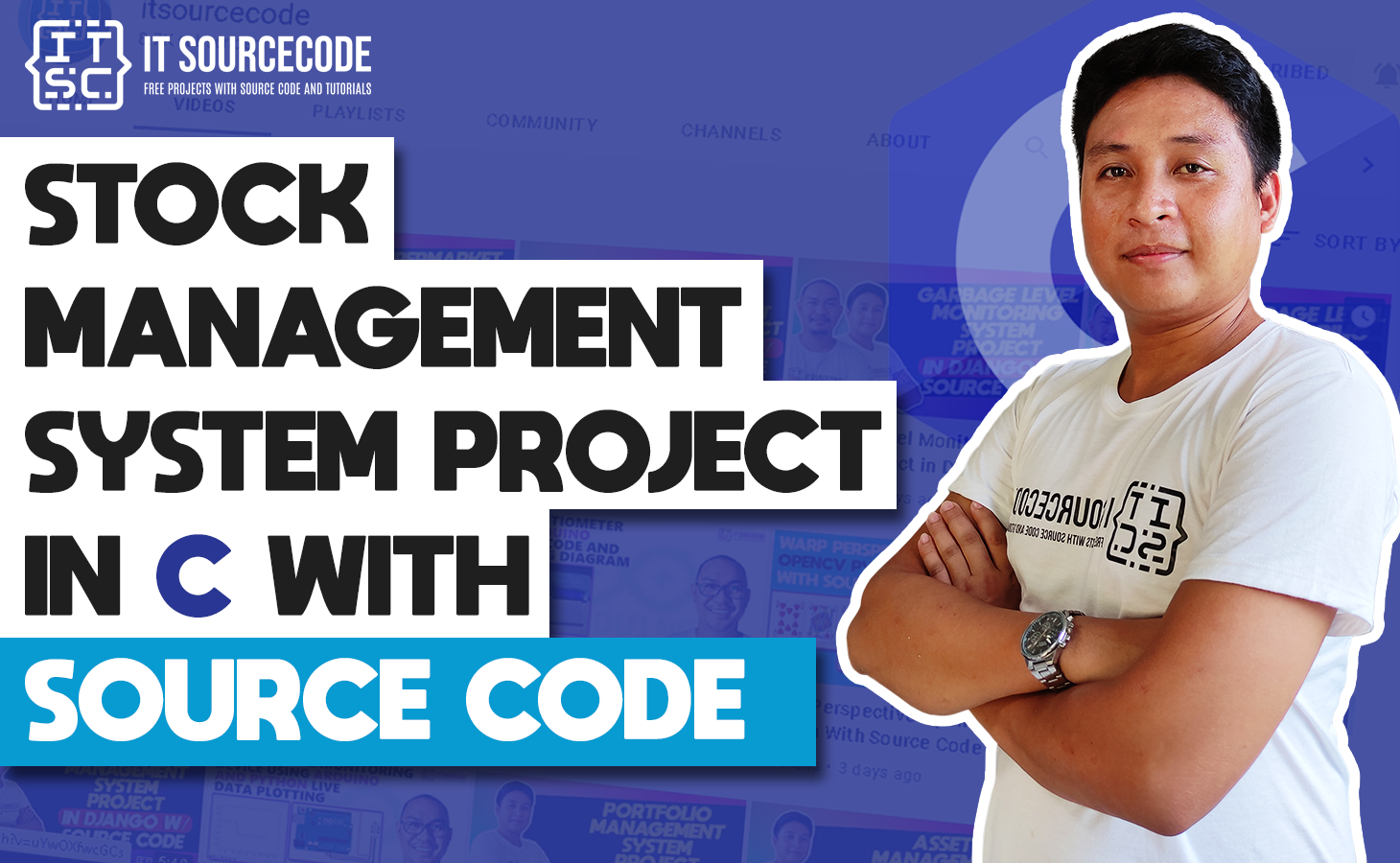Stock Management System Project in C with Source Code