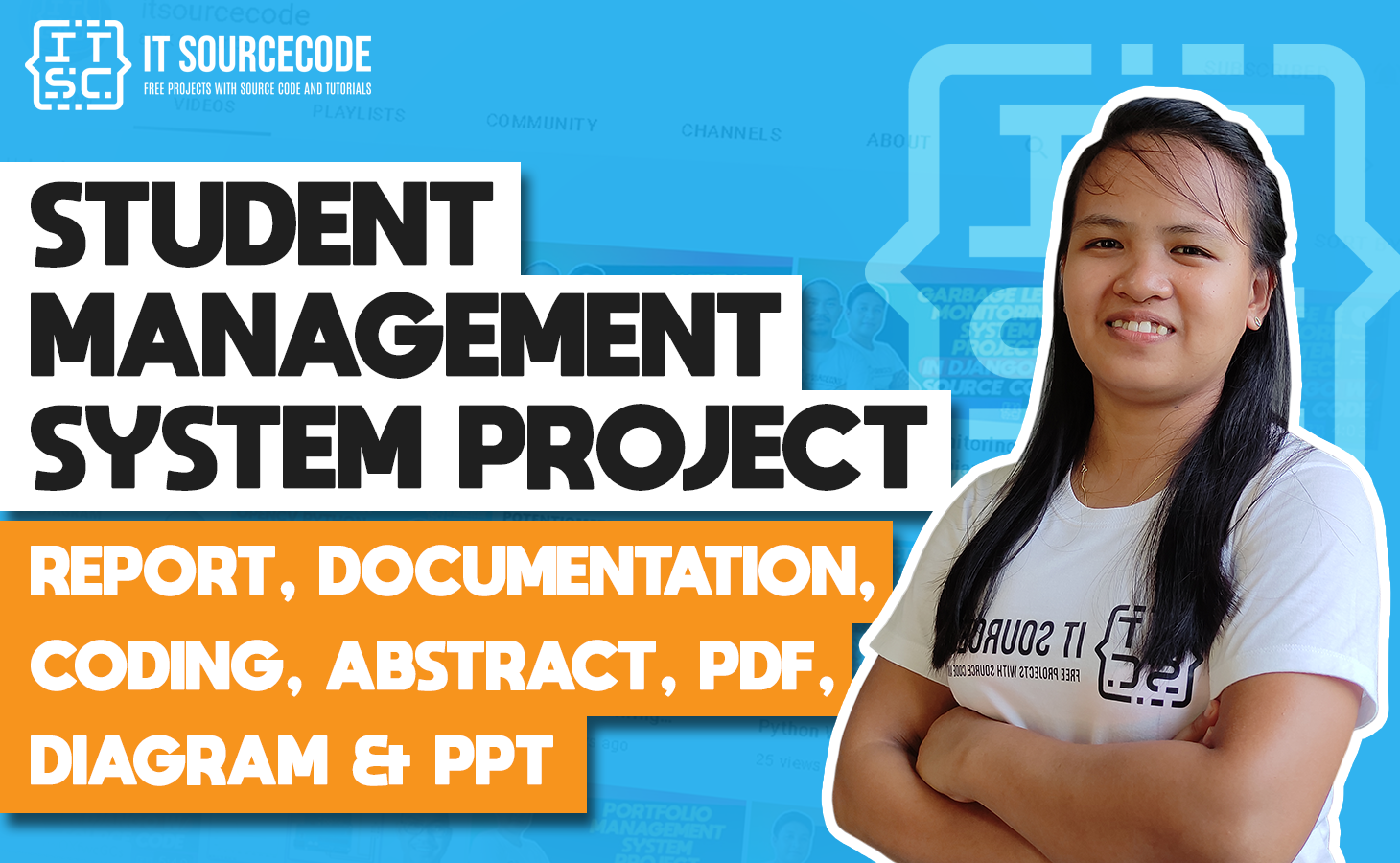 Student Management System - report, documentation, coding, abstract, pdf, diagram & ppt