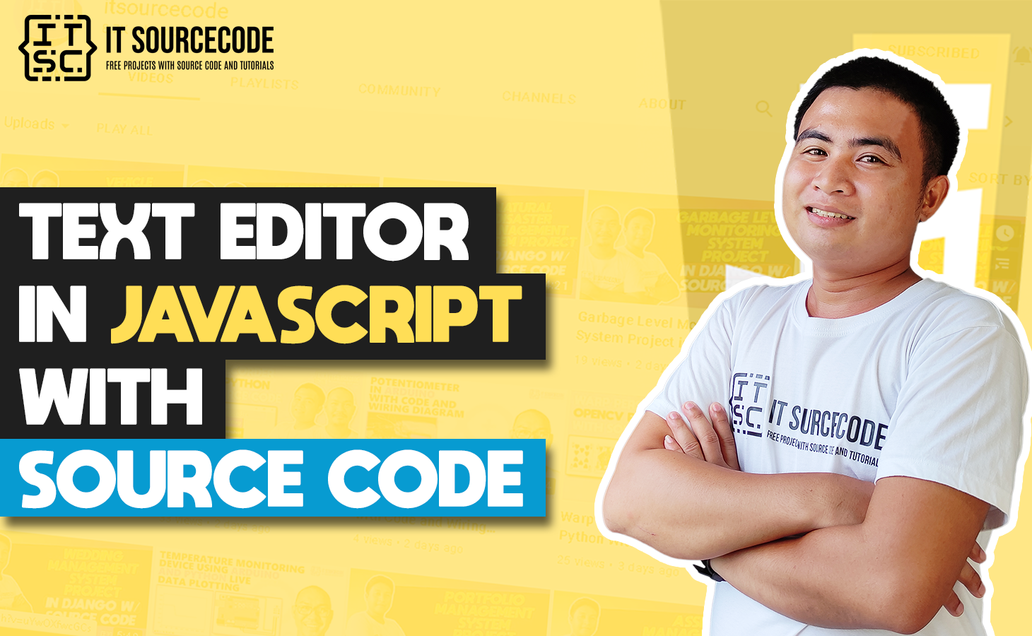 Text Editor In Javascript With Source Code