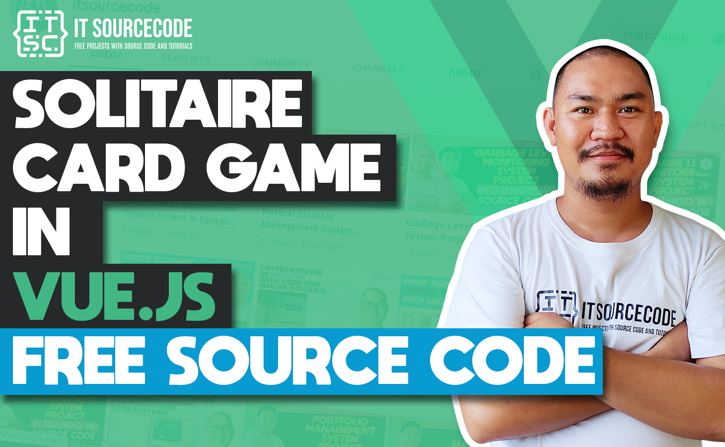 Solitaire Card game in vuejs