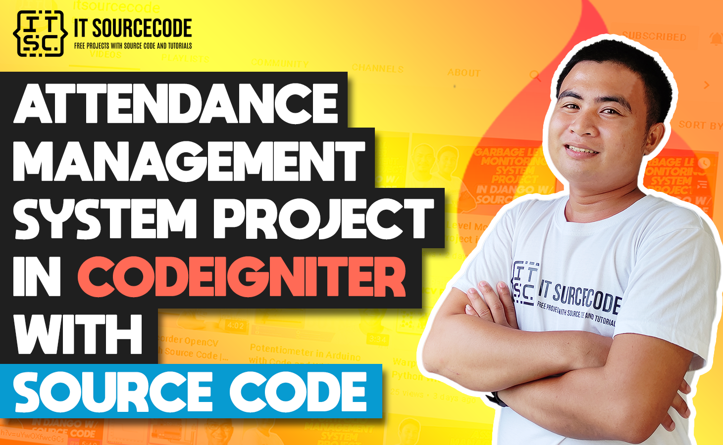 Attendance Management System In CodeIgniter With Source Code