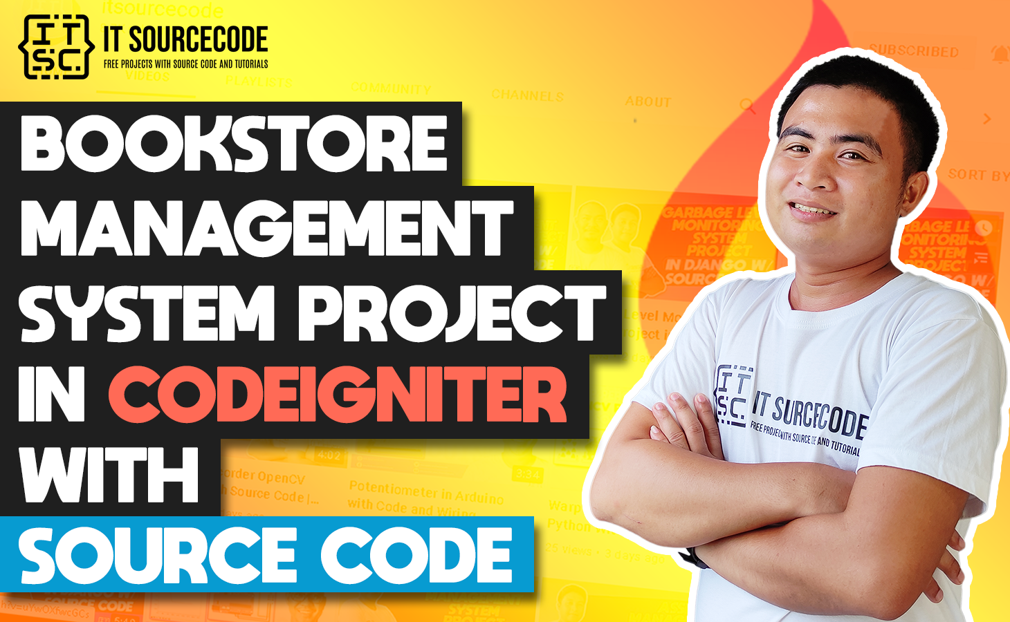 Bookstore Management System Project In CodeIgniter With Source Code