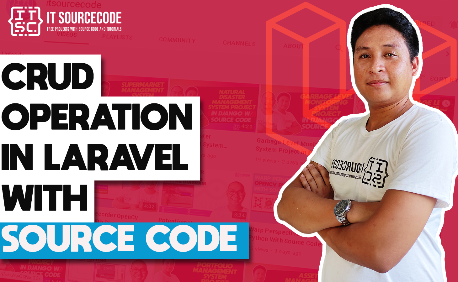 Crud Operation Project in Laravel With Source Code