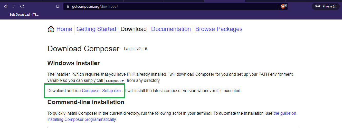 Download Composer for Crud Operation Project in Laravel With Source Code