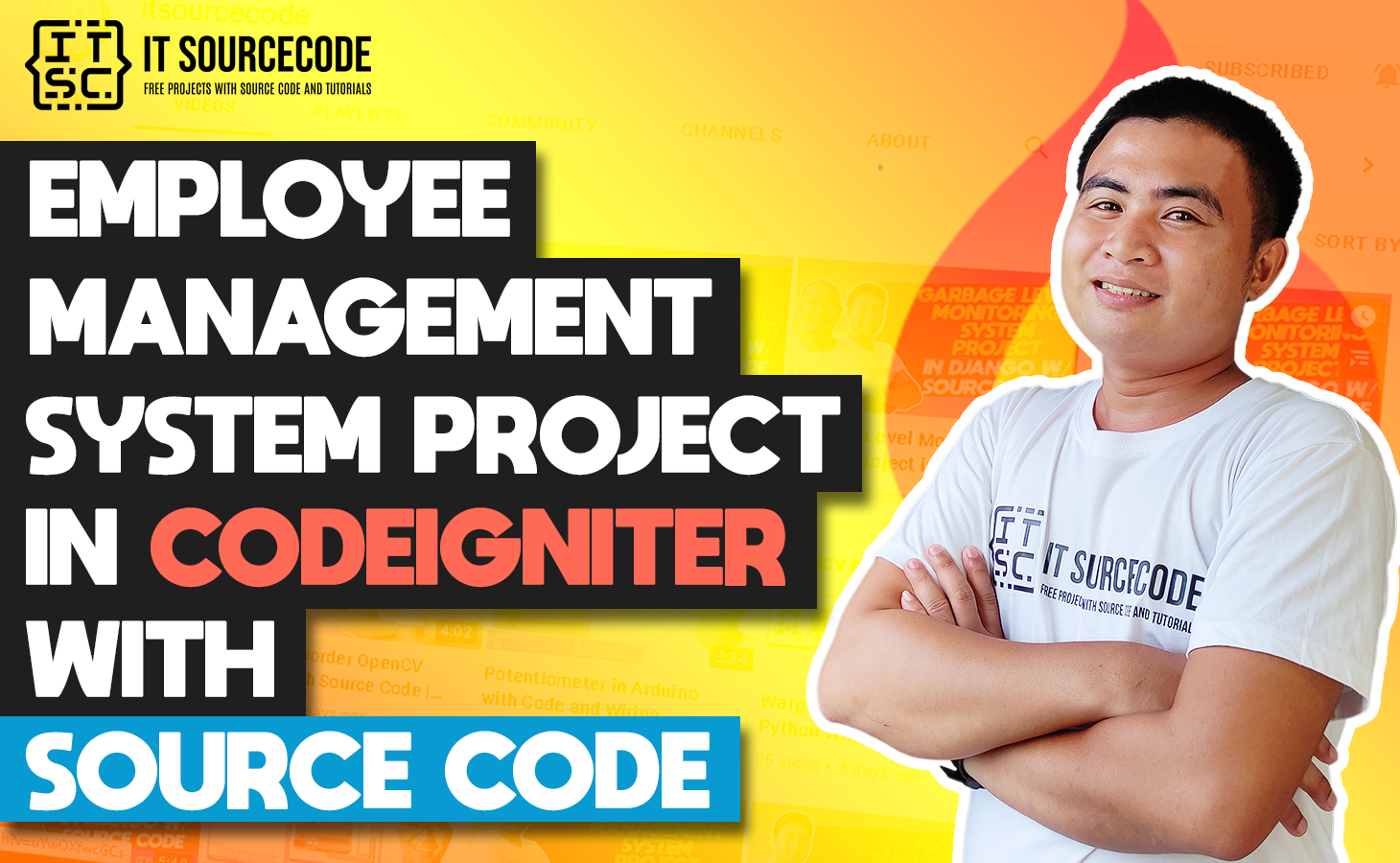 Employee Management System Project In CodeIgniter With Source Code