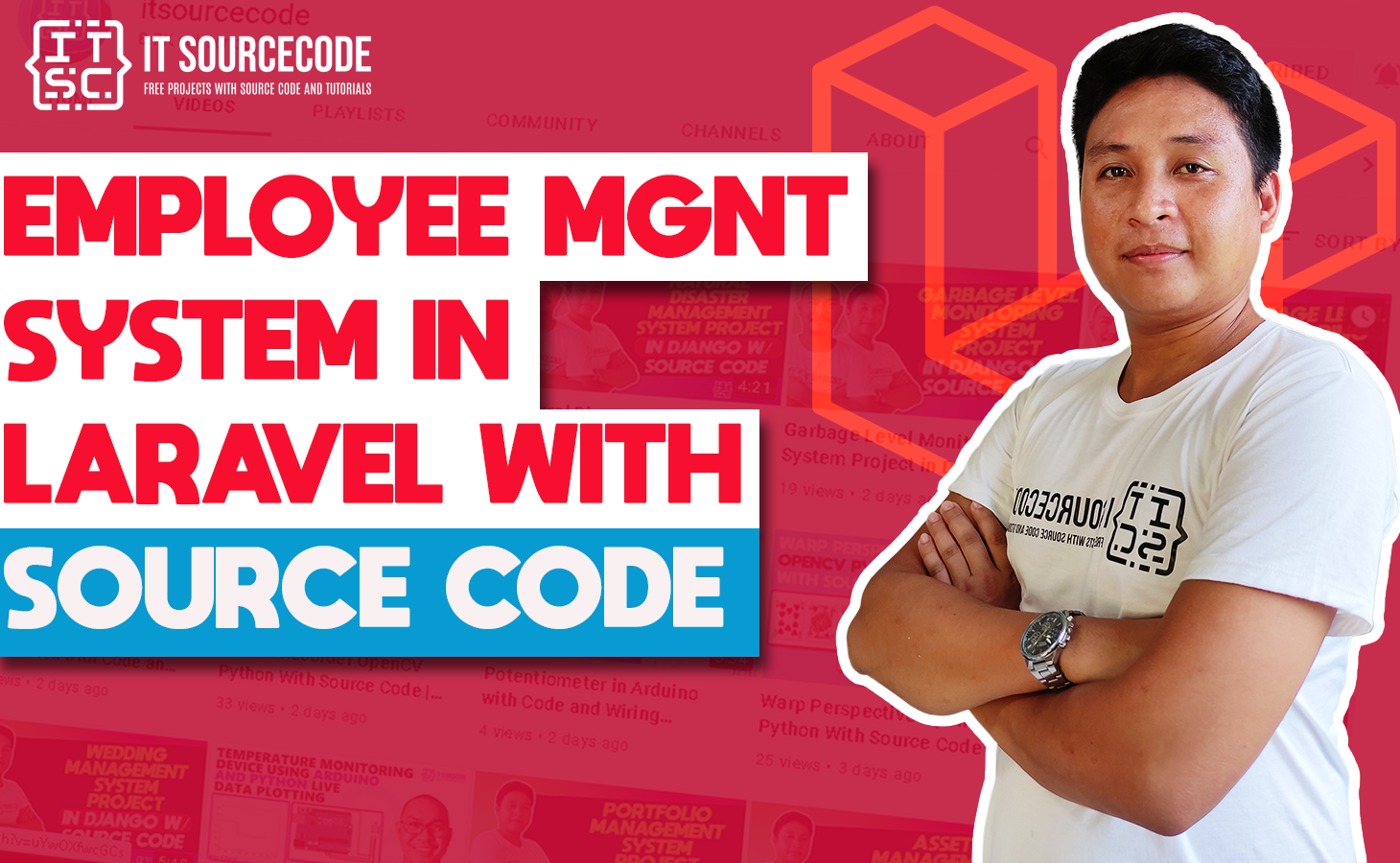 Employee Management System in Laravel With Source Code