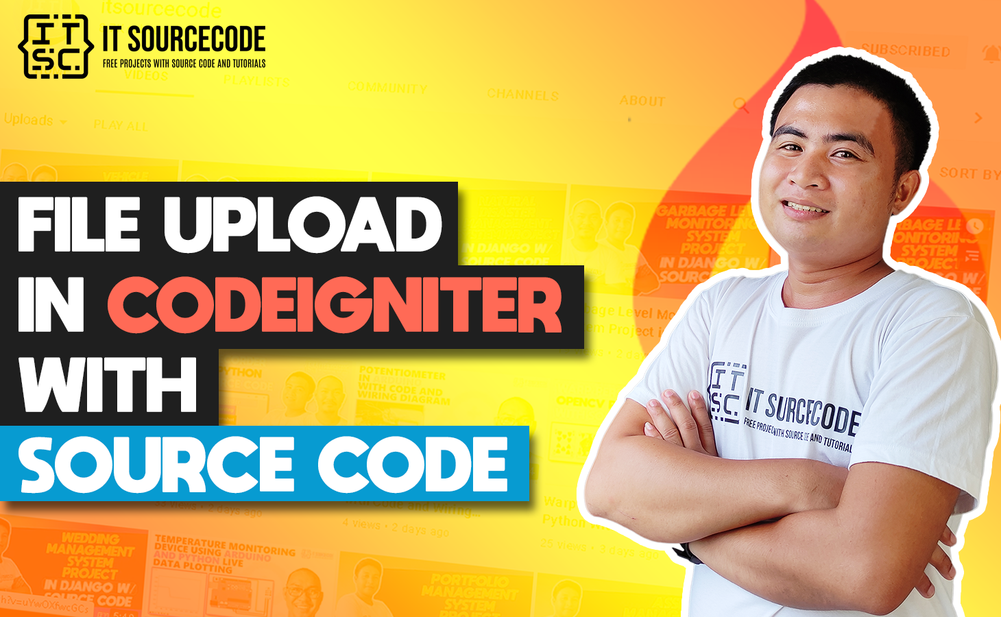 File Upload CodeIgniter With Source Code