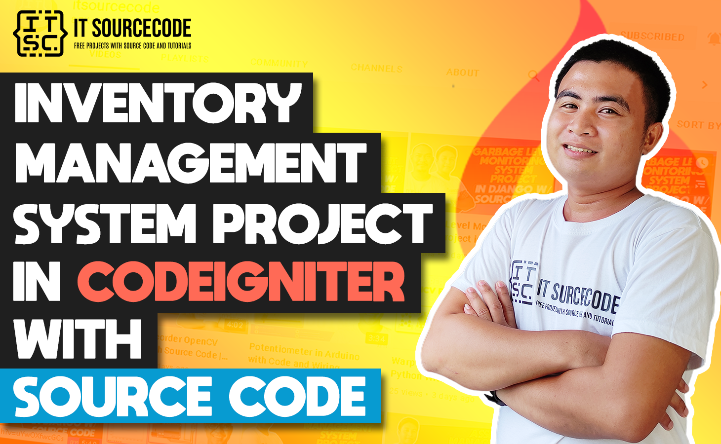 Inventory Management System Project In CodeIgniter Free Download