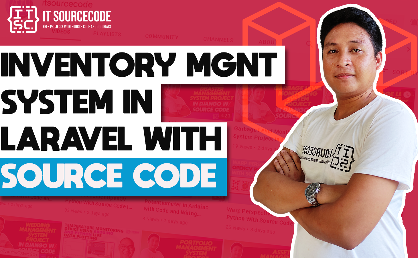 Inventory Management System in Laravel with Source Code