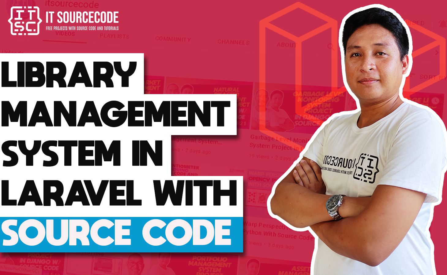Library Management System Project in Laravel with Source Code