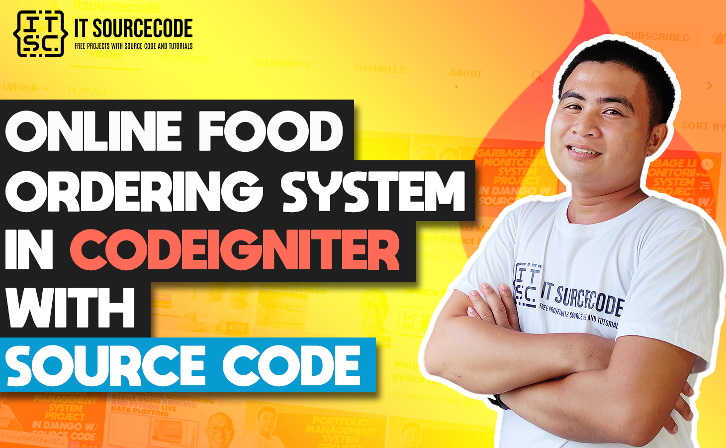 Online Food Ordering System In CodeIgniter With Source Code