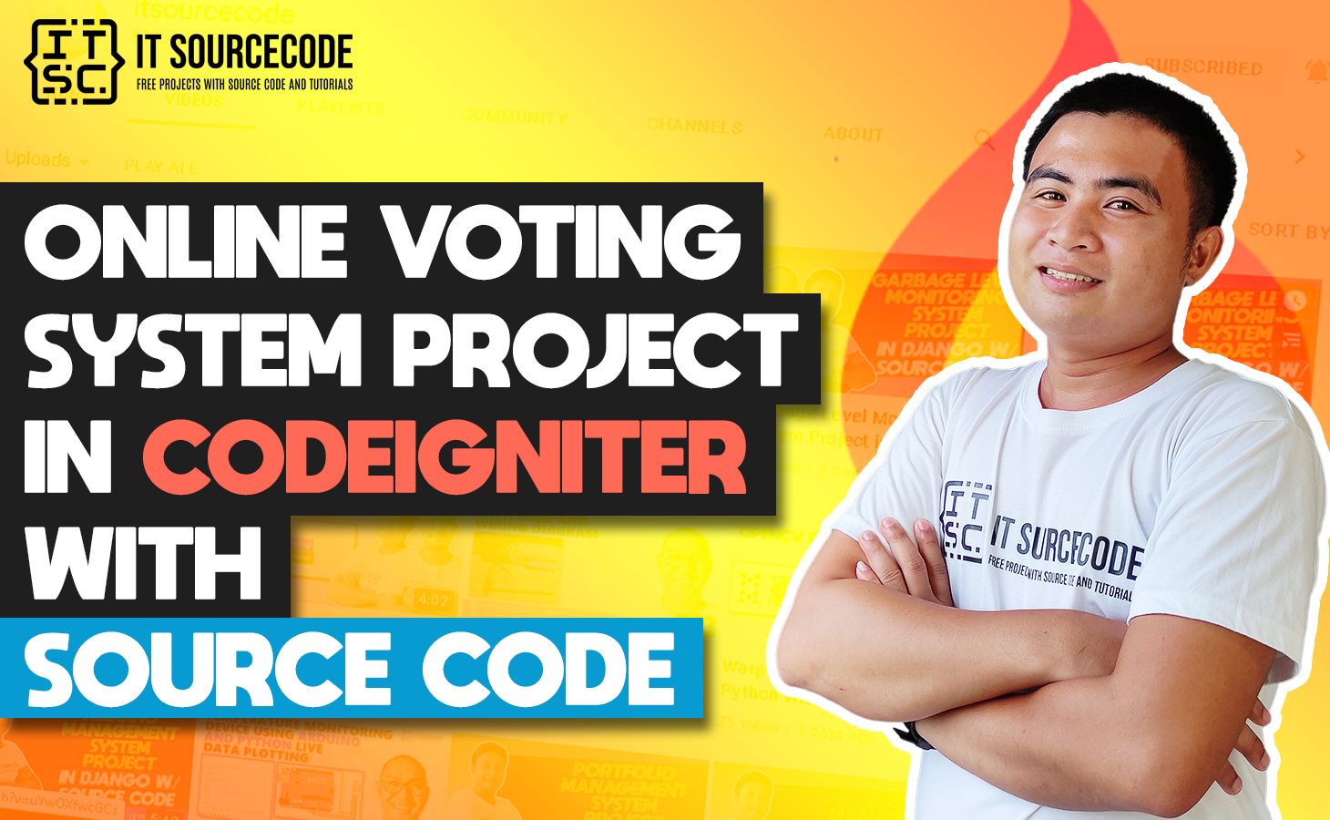 Online Voting System Project In CodeIgniter With Source Code