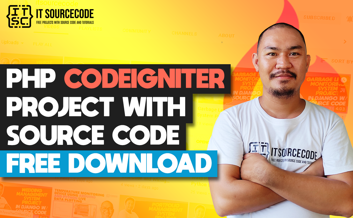 PHP CodeIgniter Project With Source Code Free Download