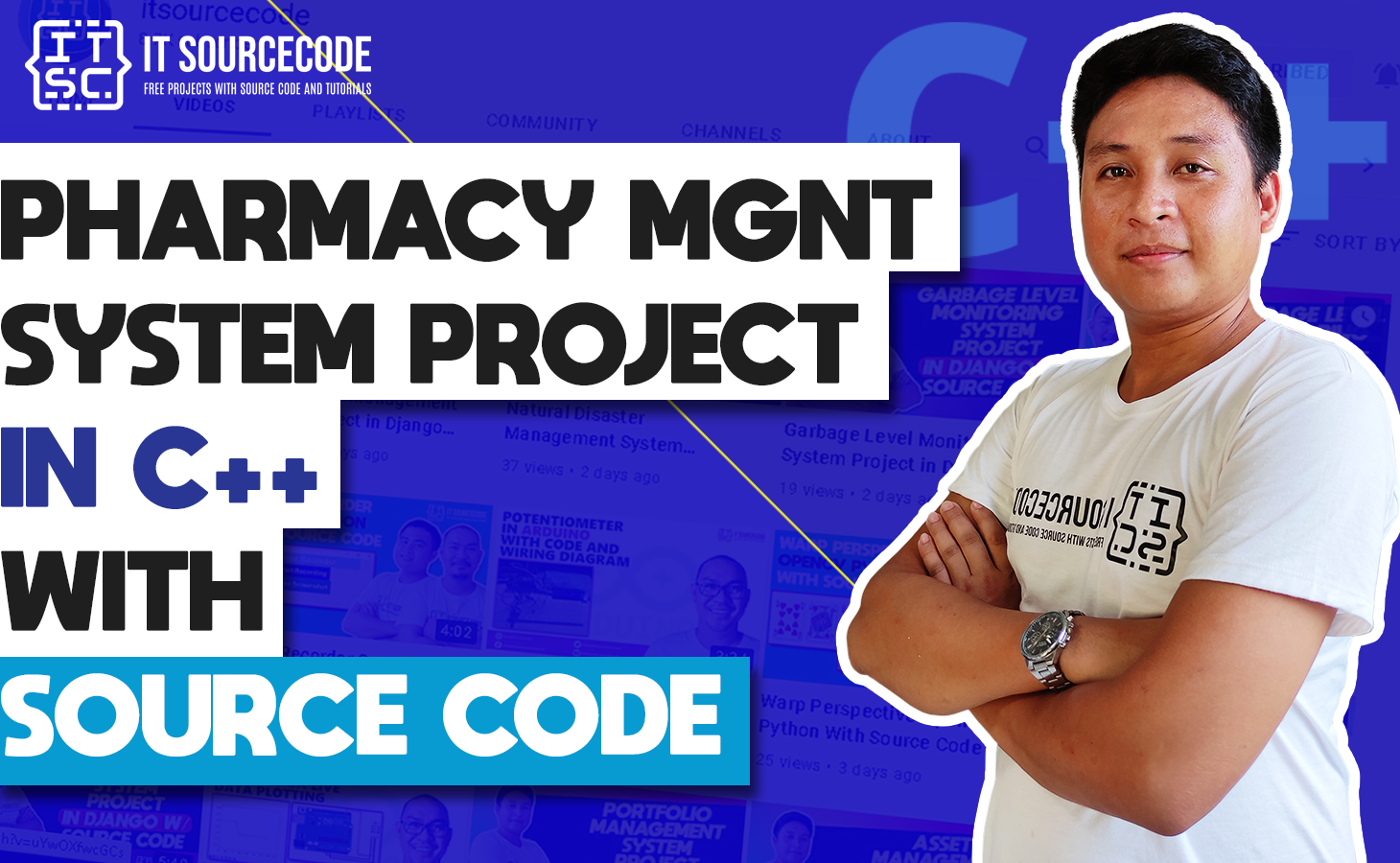 Pharmacy Management System Project in C++ with Source Code
