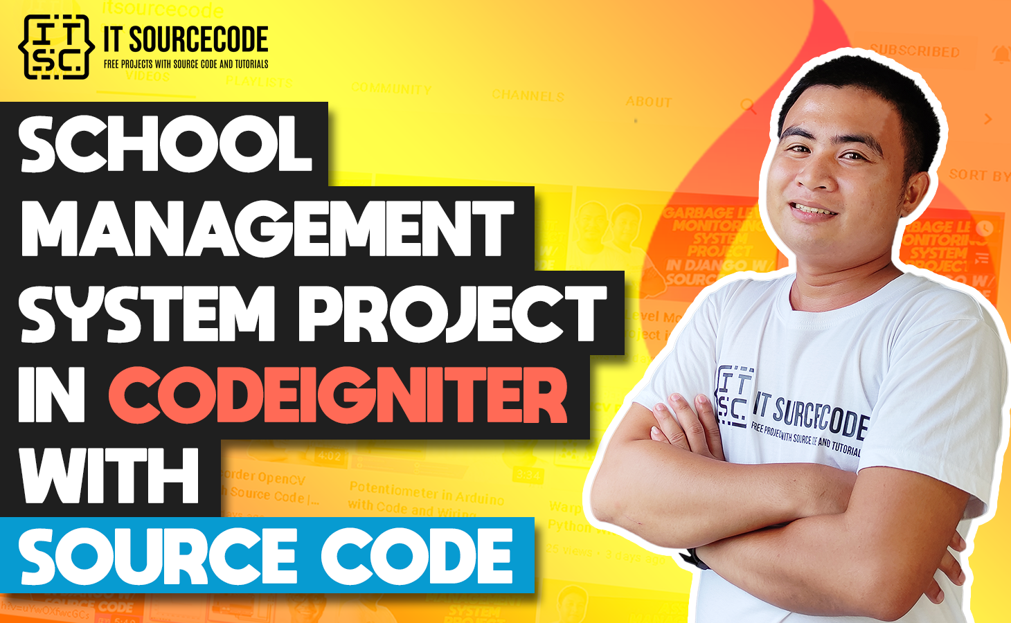 School Management System In CodeIgniter With Source Code