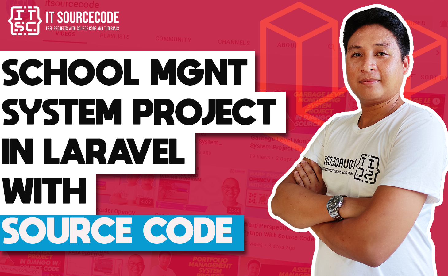 School Management System Project in Laravel With Source Code