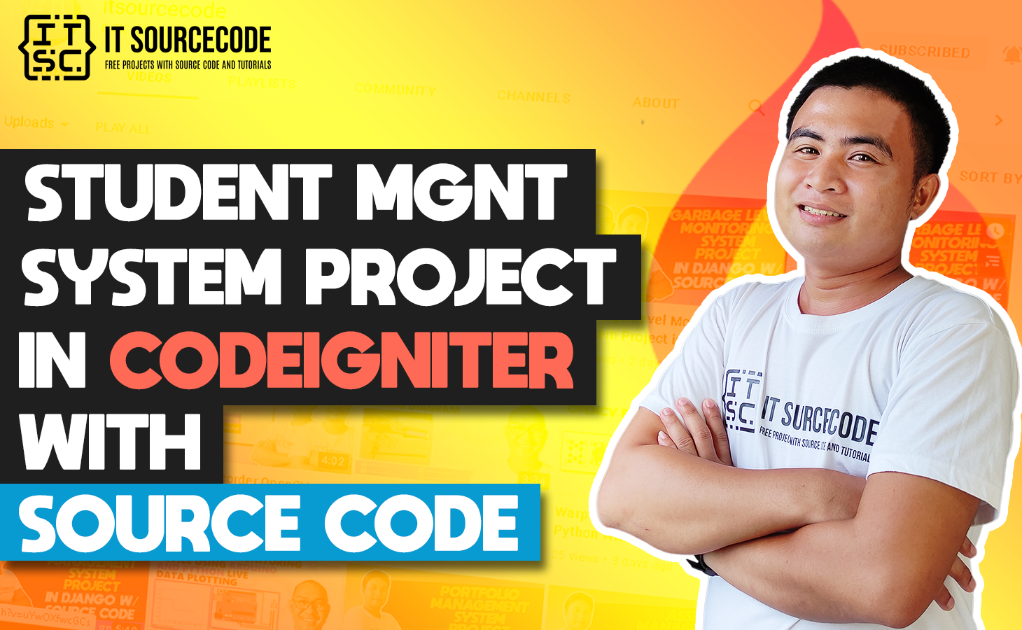Student Management System Project In CodeIgniter With Source Code