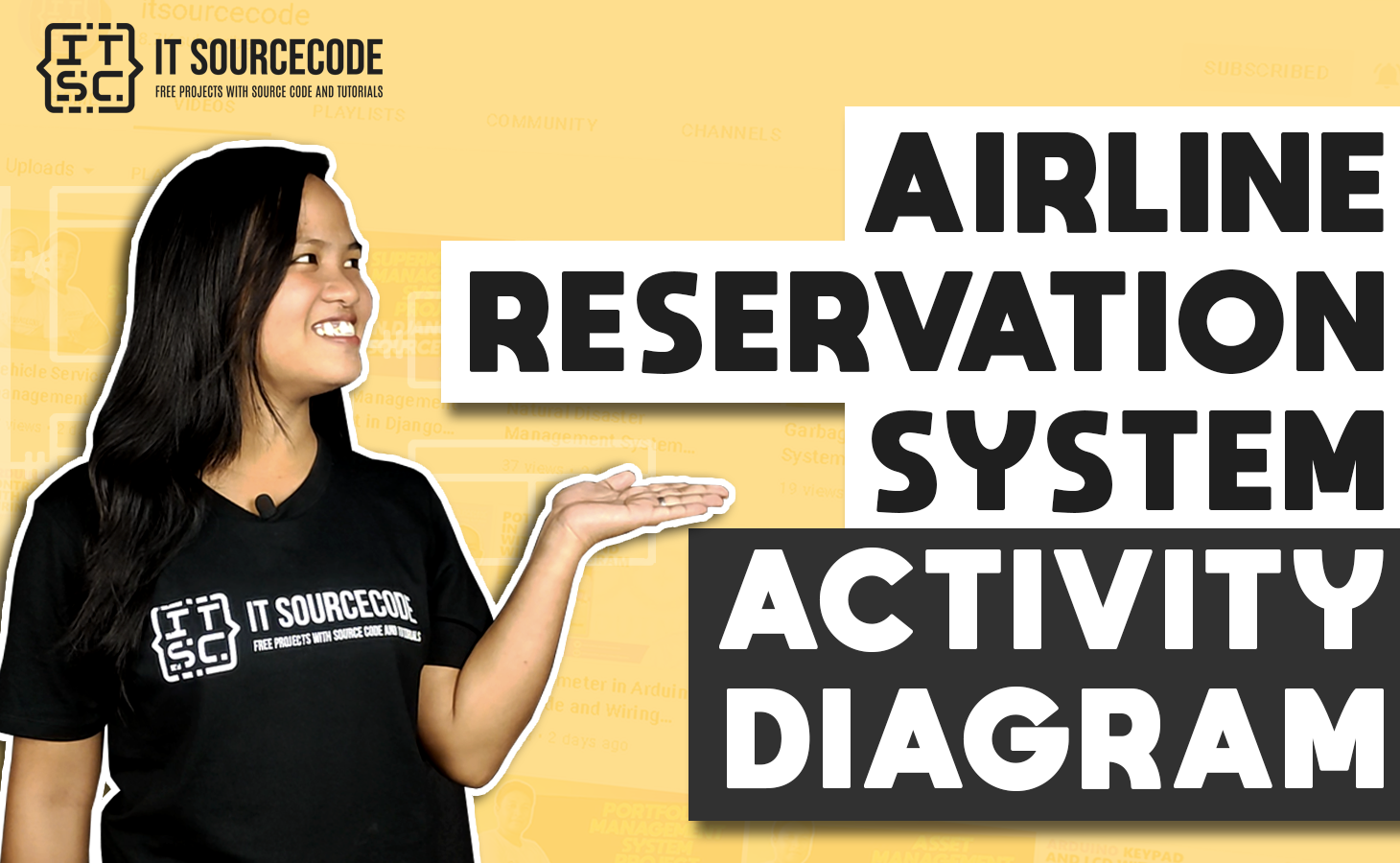 Airline Reservation System Activity Diagram