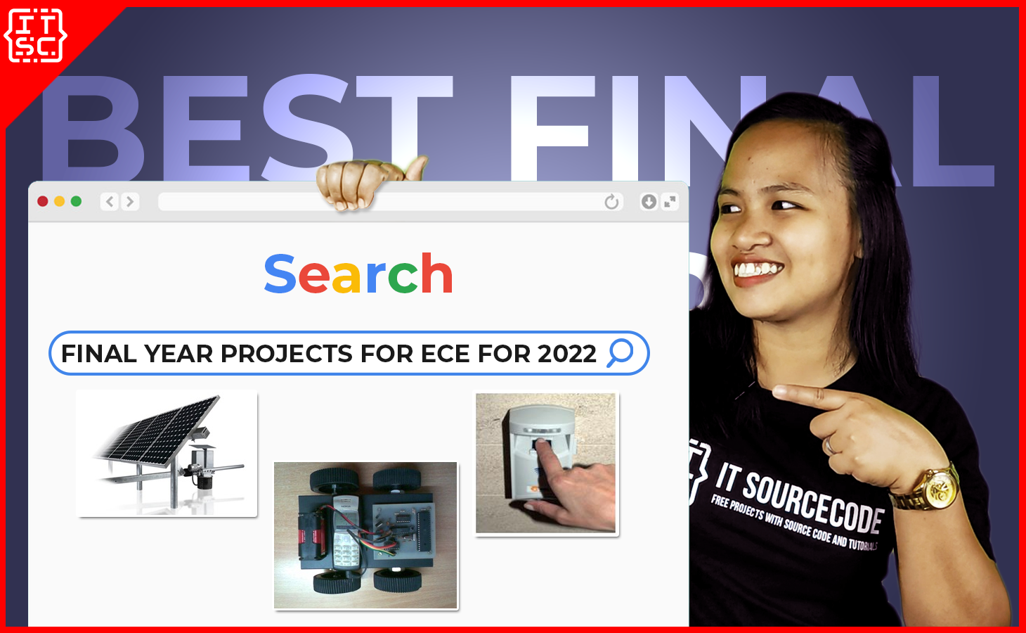BEST FINAL YEAR PROJECTS FOR ECE FOR 2022