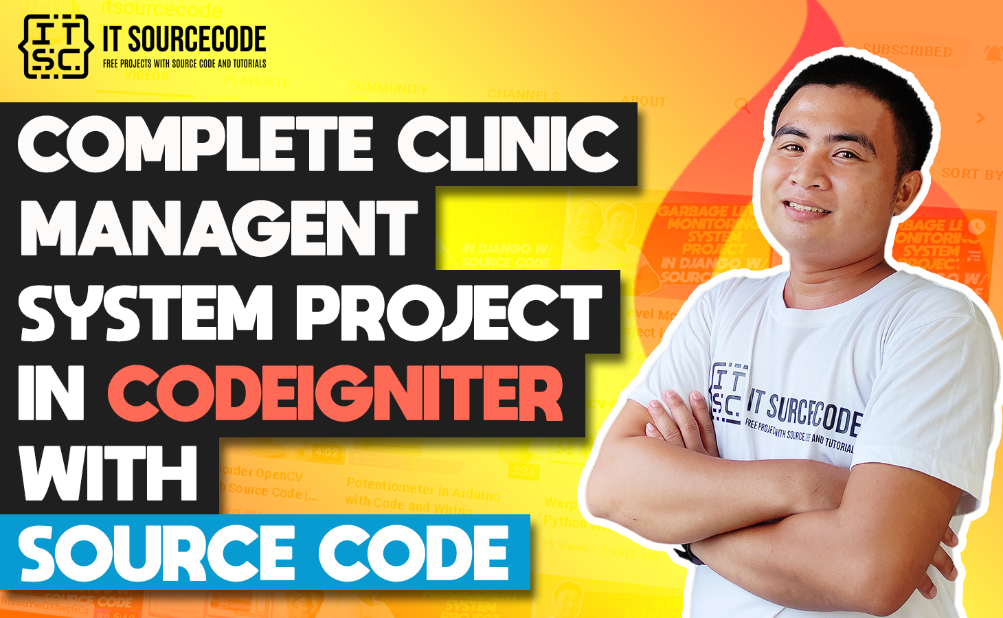 Clinic Management System In CodeIgniter With Source Code