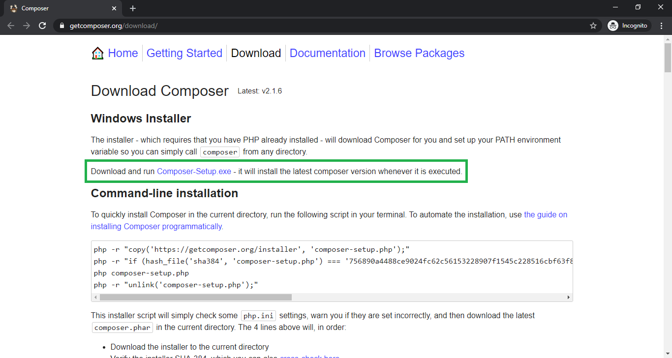 Download Composer for Event Booking System Project in Laravel with Source Code