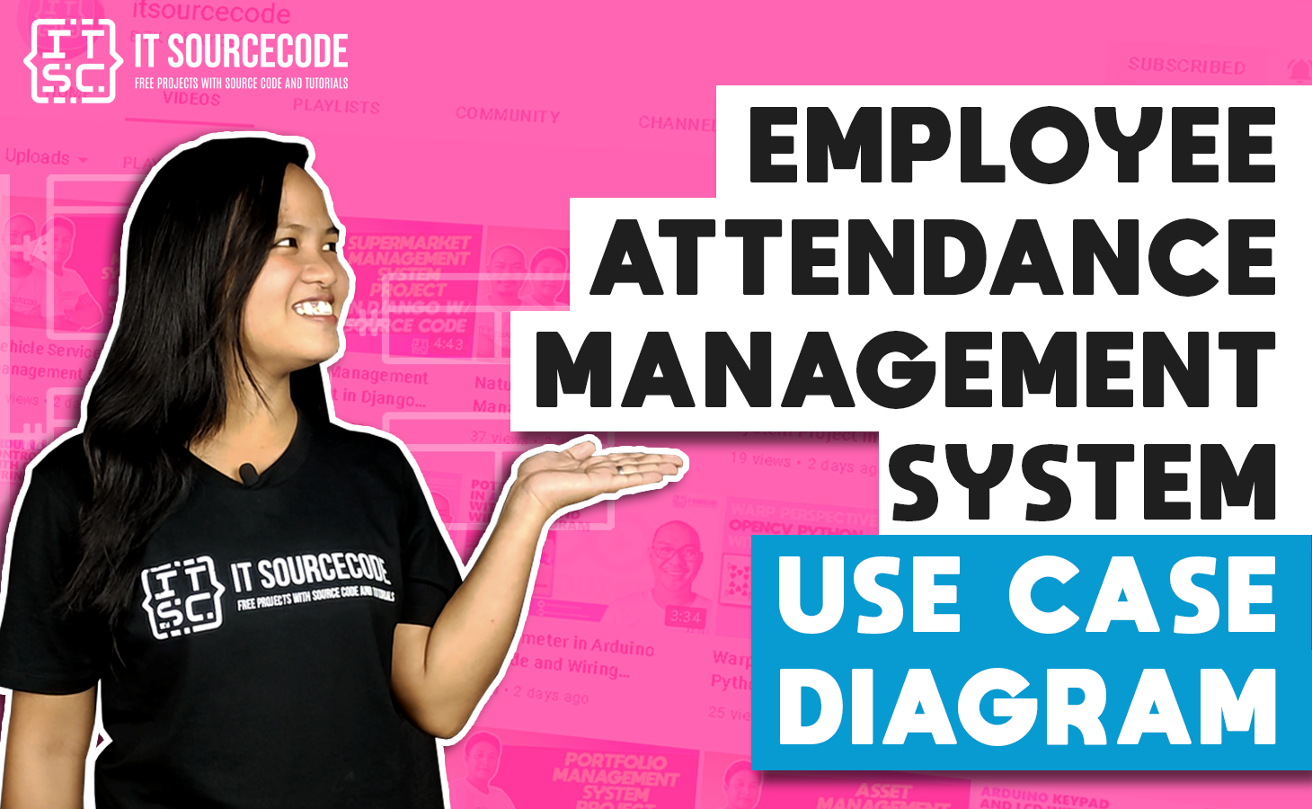 Employee Attendance Management System Use Case Diagram