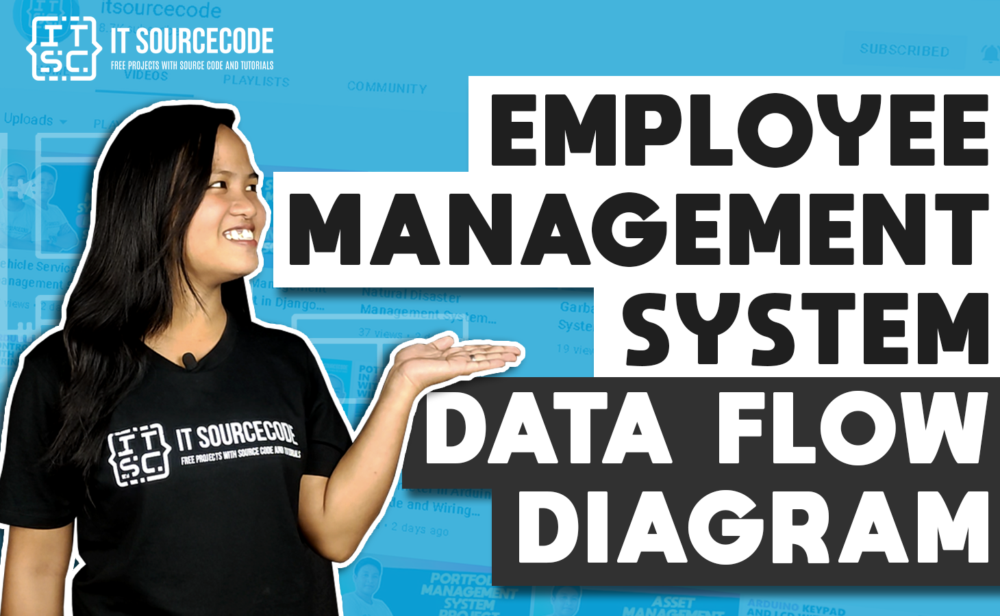 Employee Management System DFD