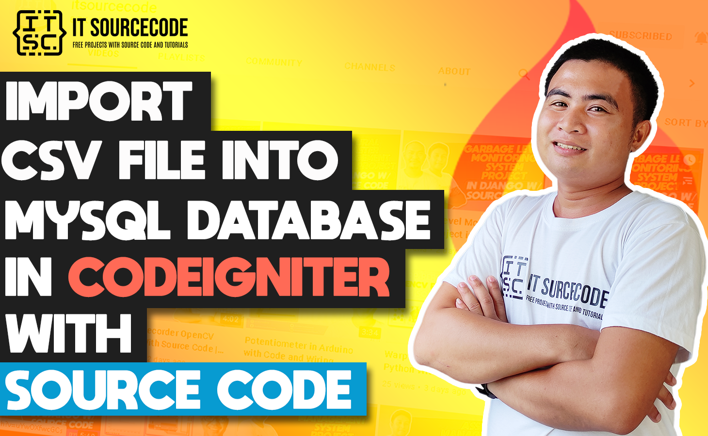 Import CSV File In CodeIgniter With Source Code